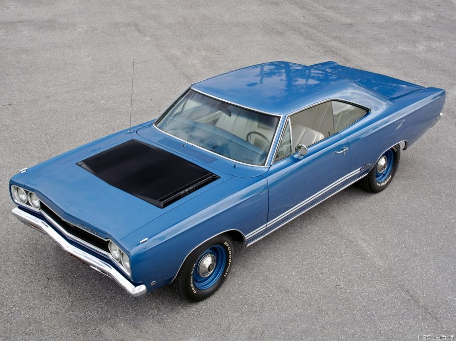Plymouth GTX 1968 classic cars muscle wallpaper