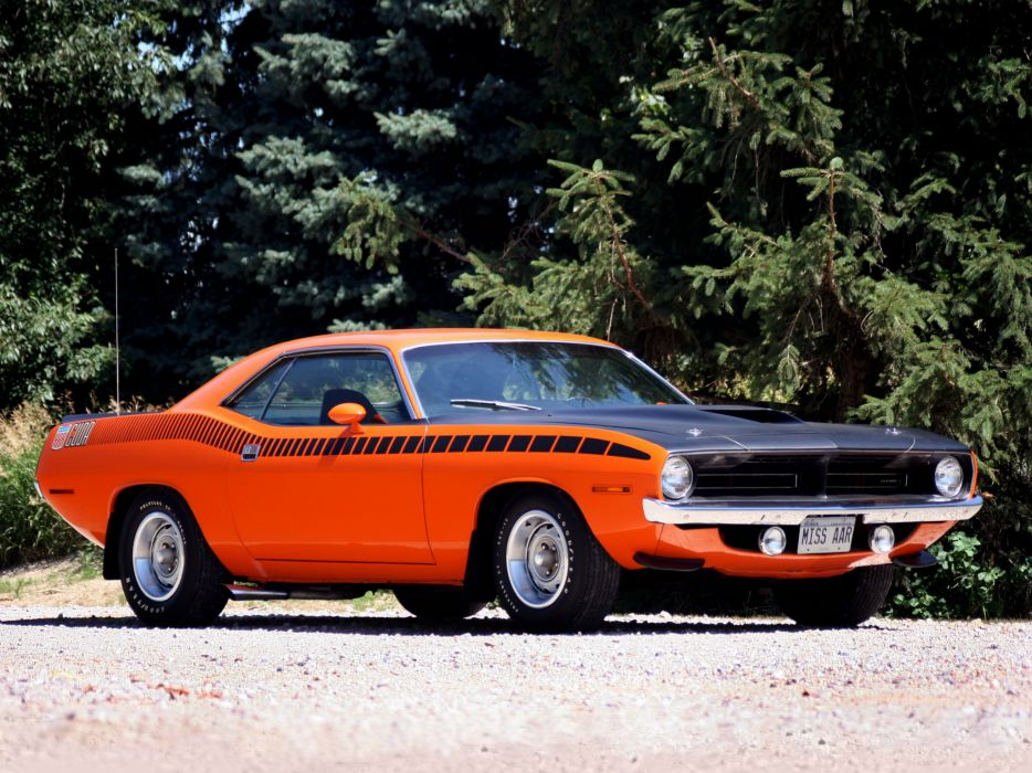 Plymouth AAR Cuda 1970 1 muscle cars classic wallpaper