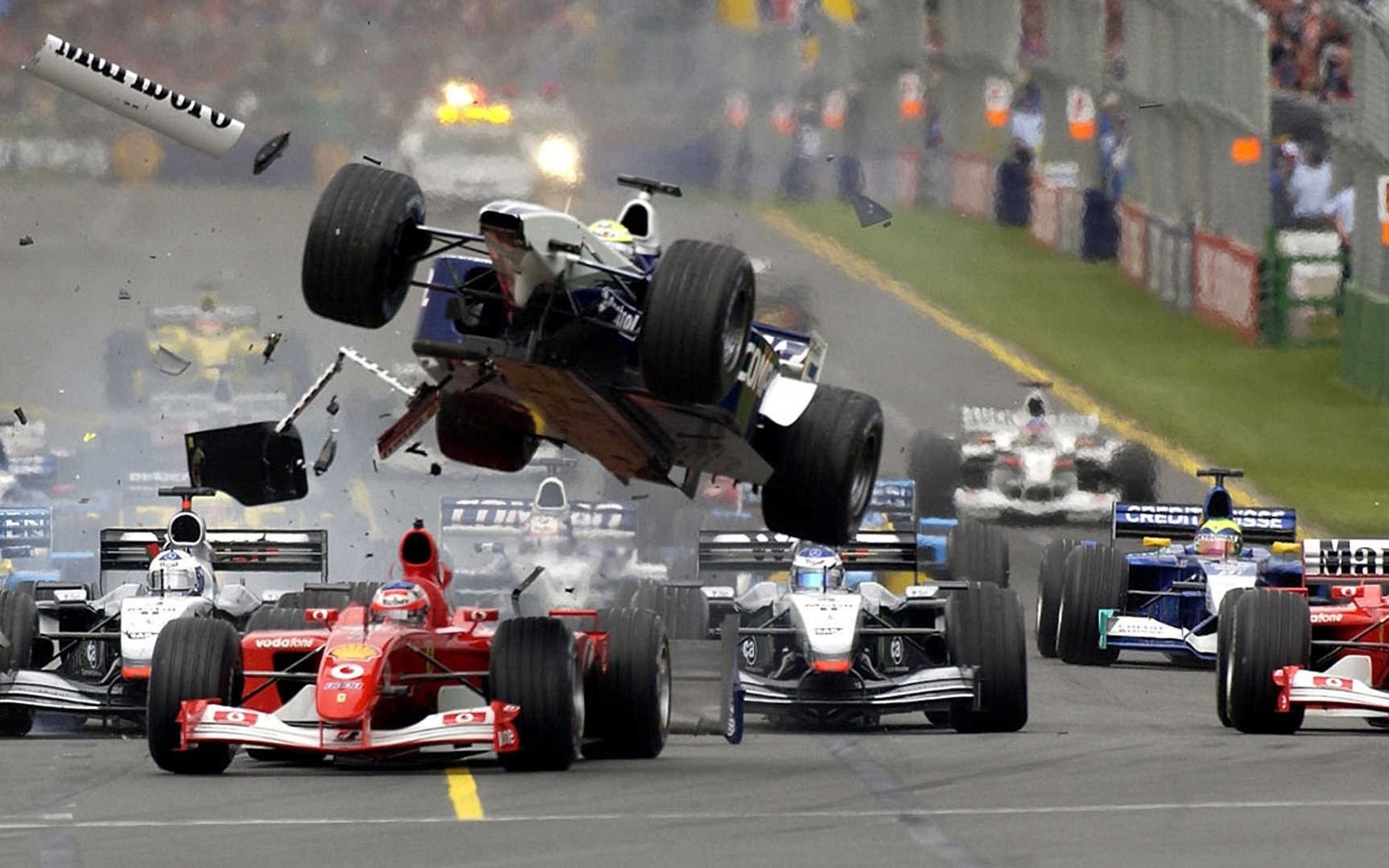 cars ferrari crash formula one vehicles mclaren races williams race tracks f1 wallpaper. Black Bedroom Furniture Sets. Home Design Ideas