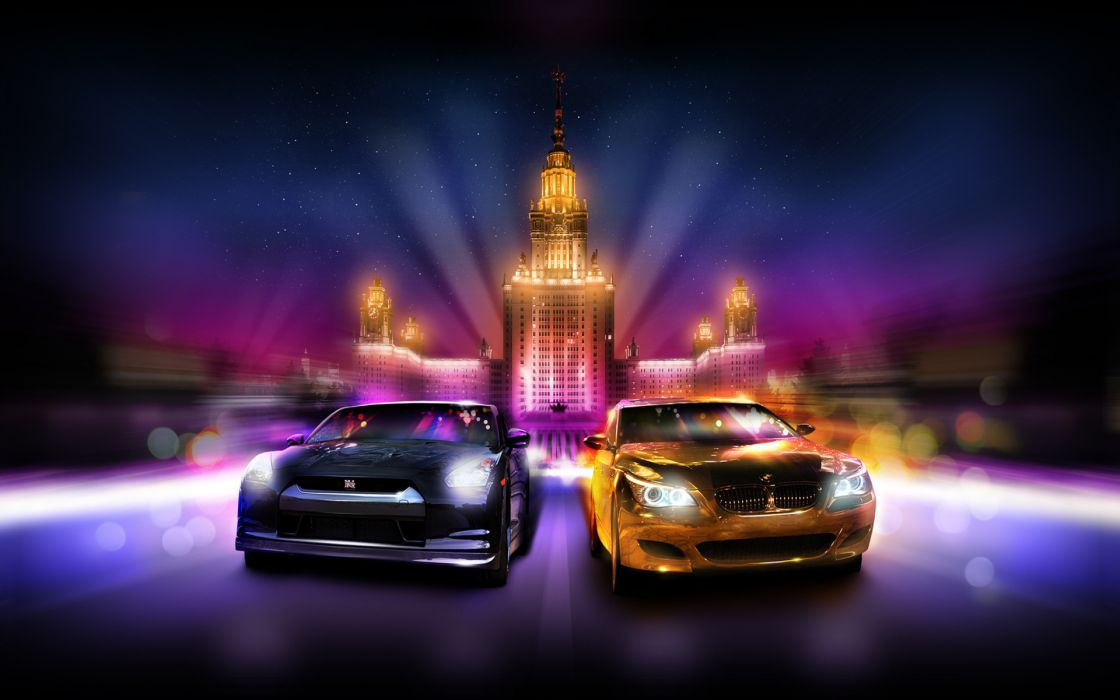 bmw MSU smotra gold the show nissan golden wallpaper