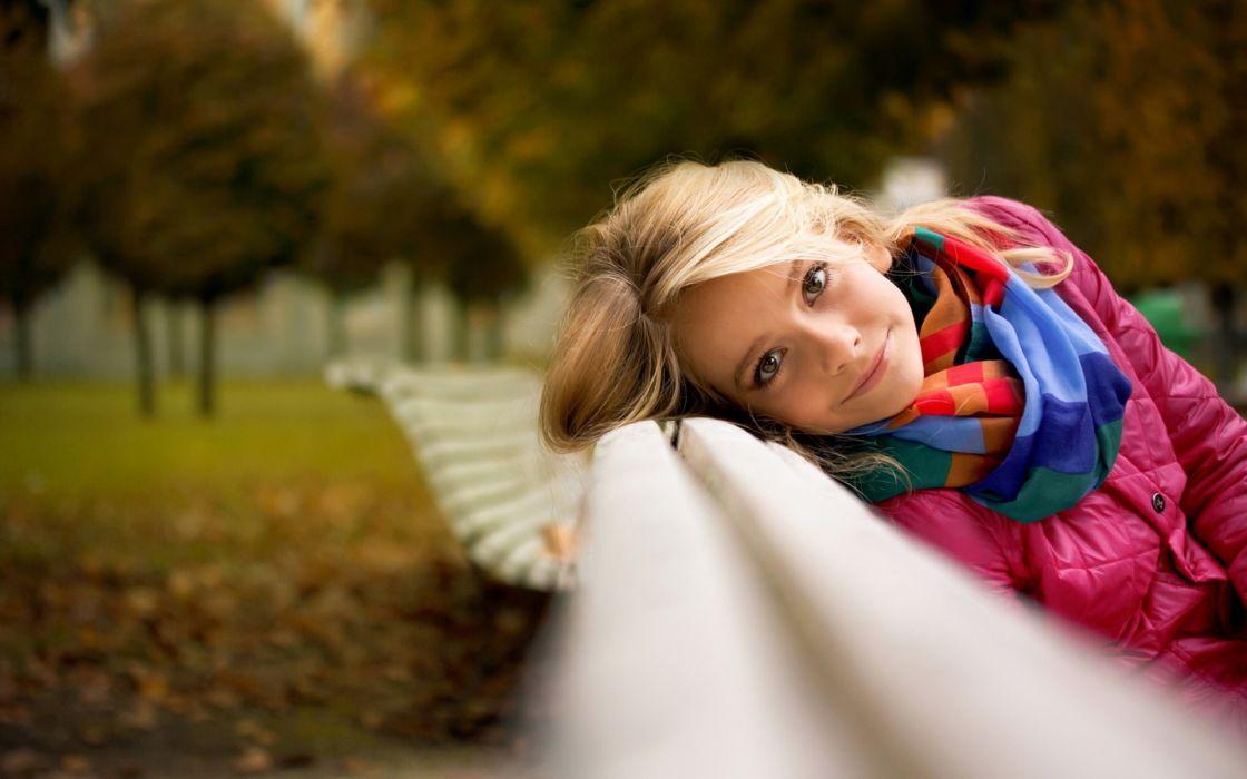 women model blonde wallpaper