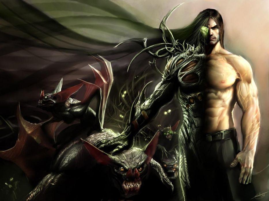 The Darkness fantasy warrior wallpaper