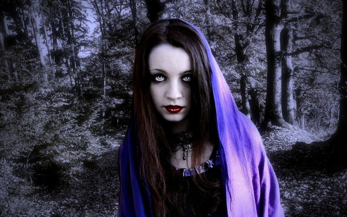 dark fantasy horror gothic women vampire wallpaper