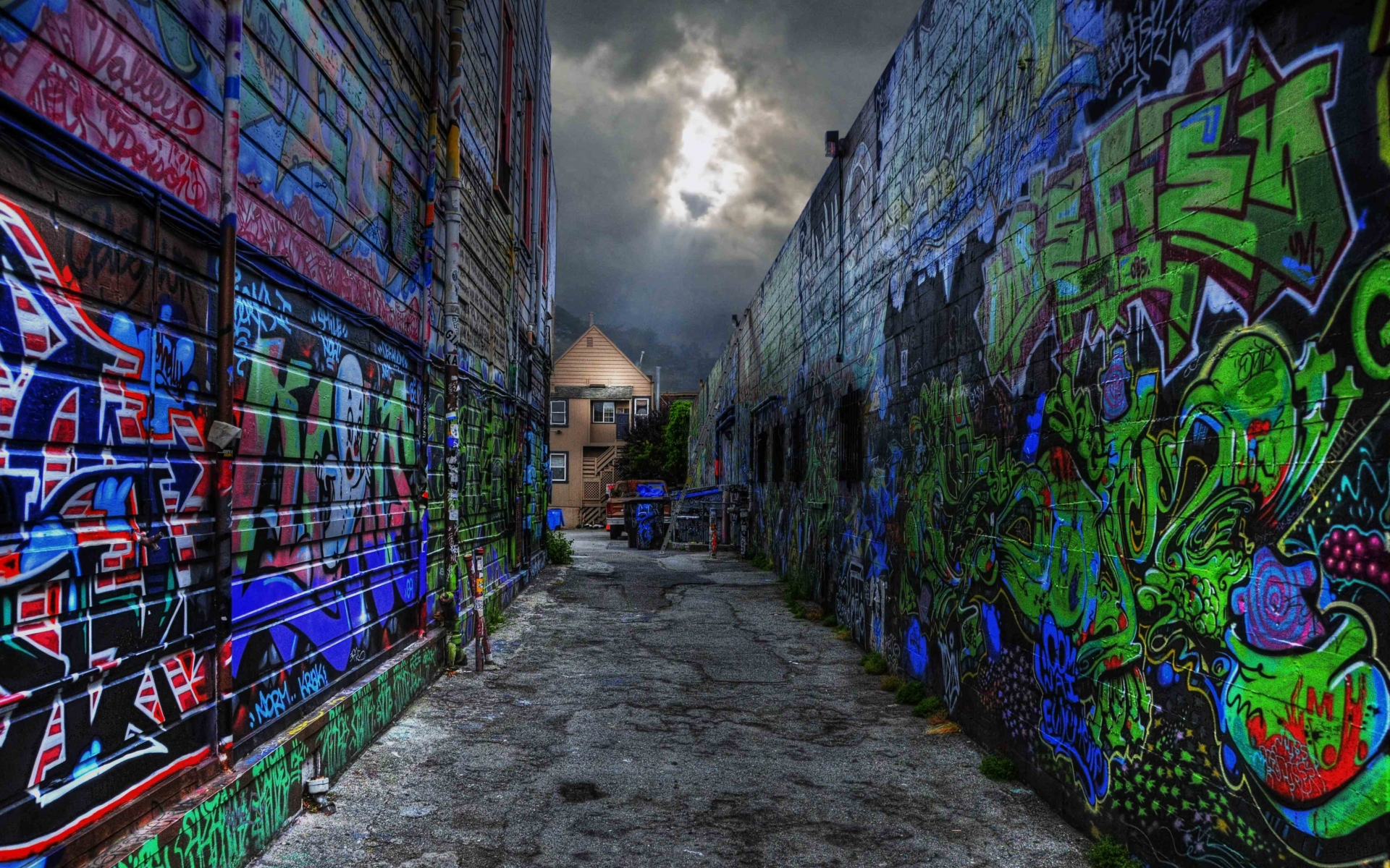 urban graffiti art wallpaper - photo #6