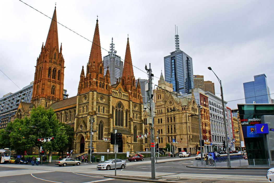 Australia architecture buildings cathedral wallpaper