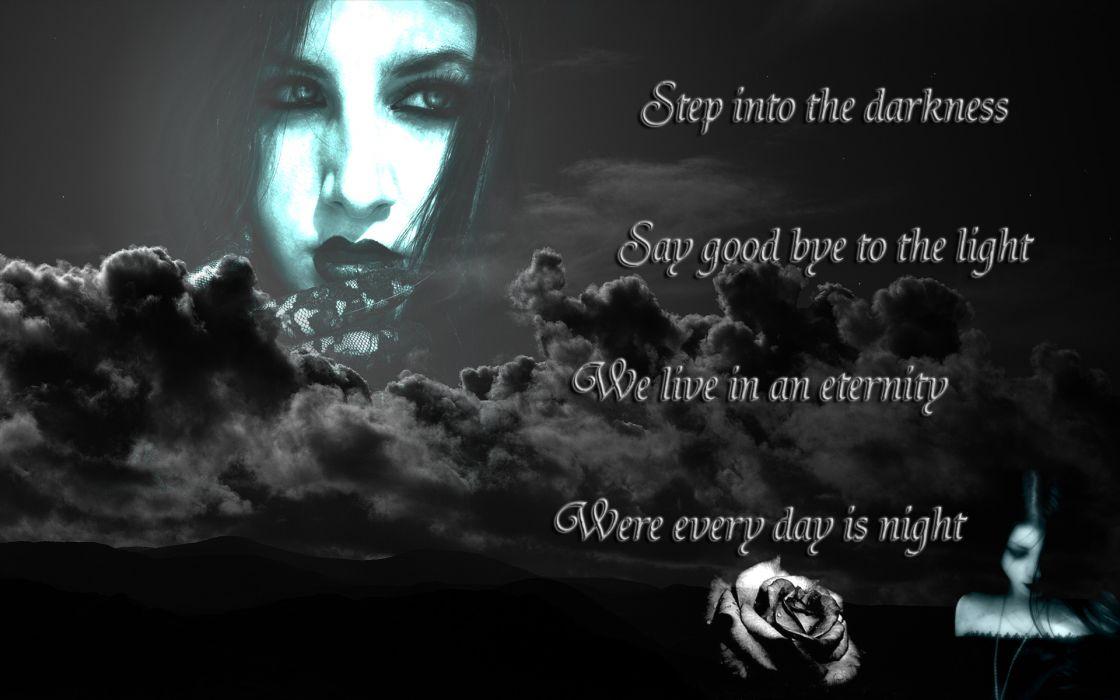 dark horror gothic vampire fantasy women wallpaper