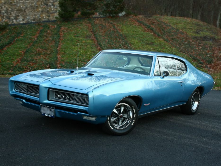 pontiac classic muscle cars wallpaper