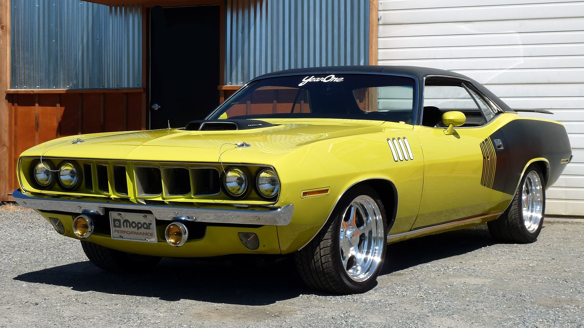 Plymouth Barracuda Classic Muscle Cars Hot Rod Wallpaper