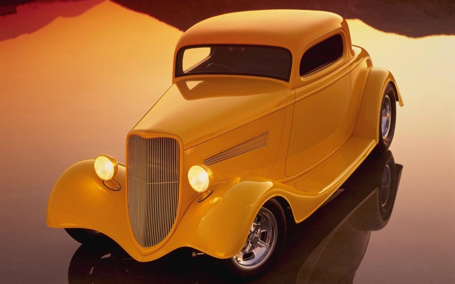 Retro Auto Hot Rod Custom Classic Cars Wallpaper
