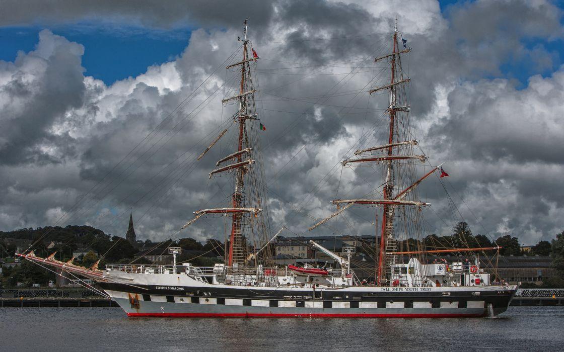 ship boats wallpaper