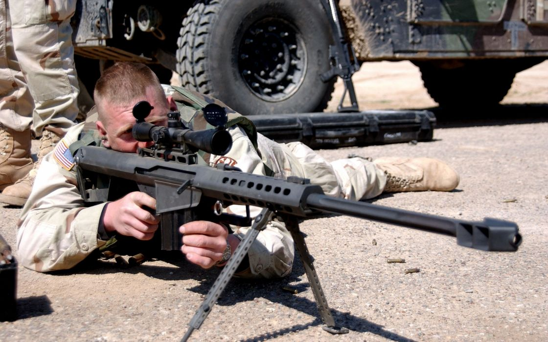 military warrior soldier sniper weapons guns rifle wallpaper