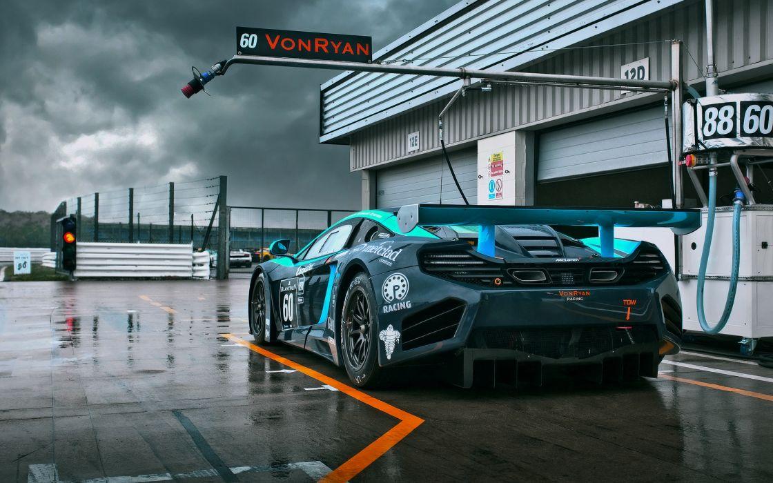 Mclaren racing race car wallpaper