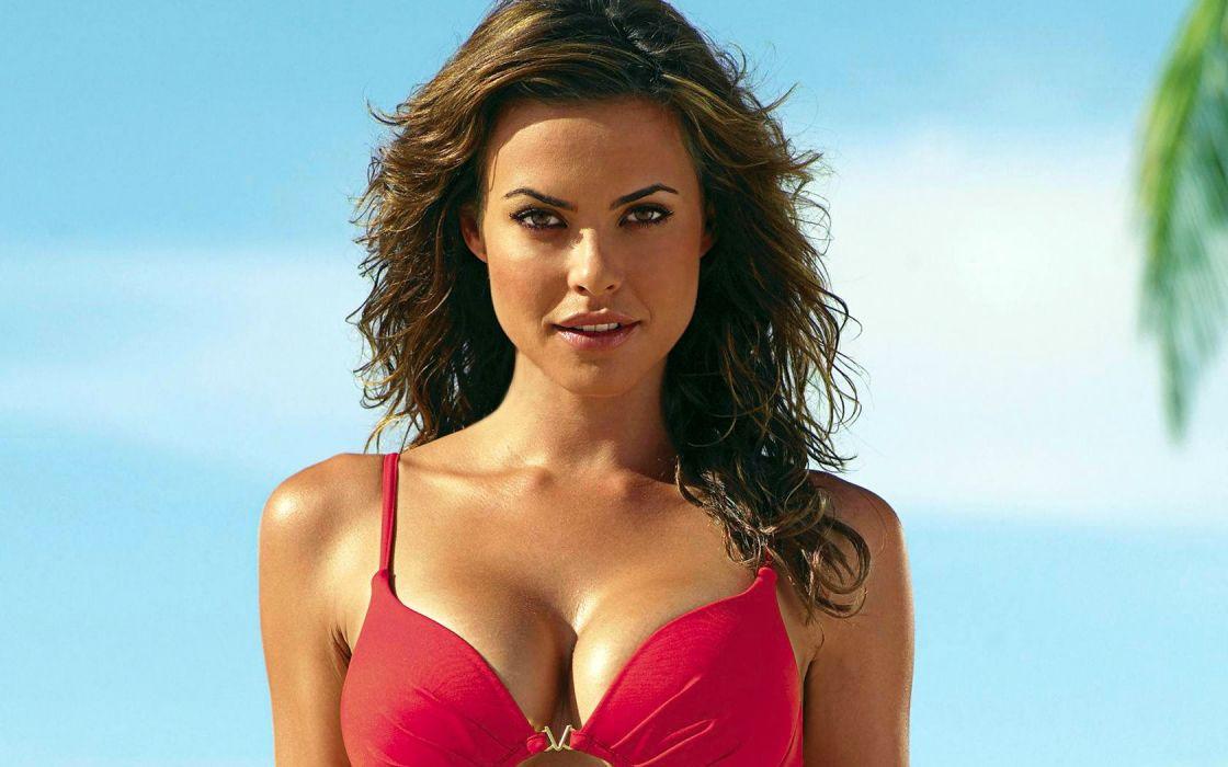 Fernanda Mello women model fashion swimwear bikini brunette sexy babes wallpaper