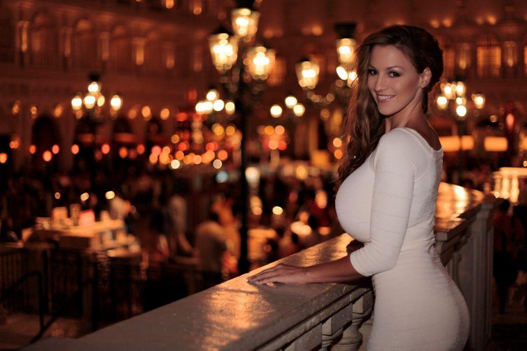 Jordan Carver women brunette model sexy babes wallpaper