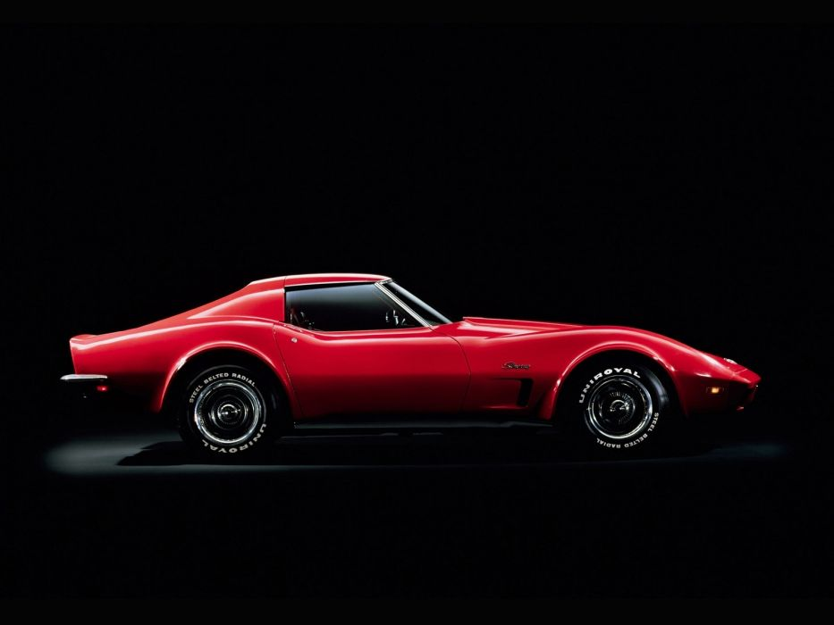 cars chevrolet chevy corvette muscle classic red wallpaper