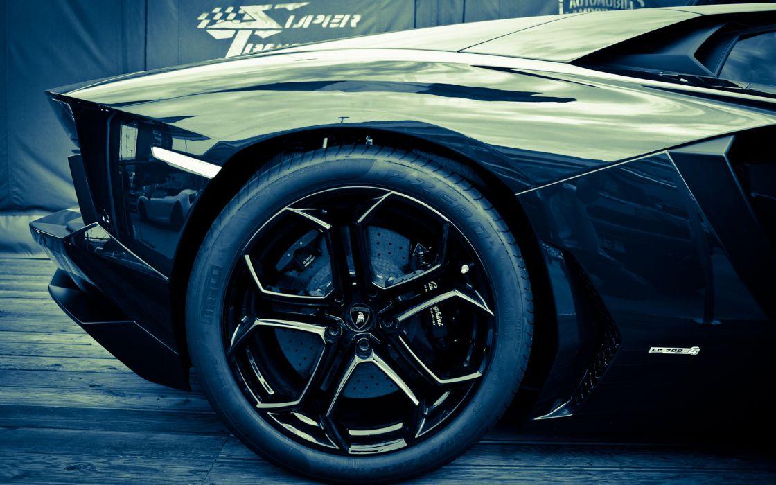 Lamborghini lp700-4 aventador supercar exotic wheel wallpaper