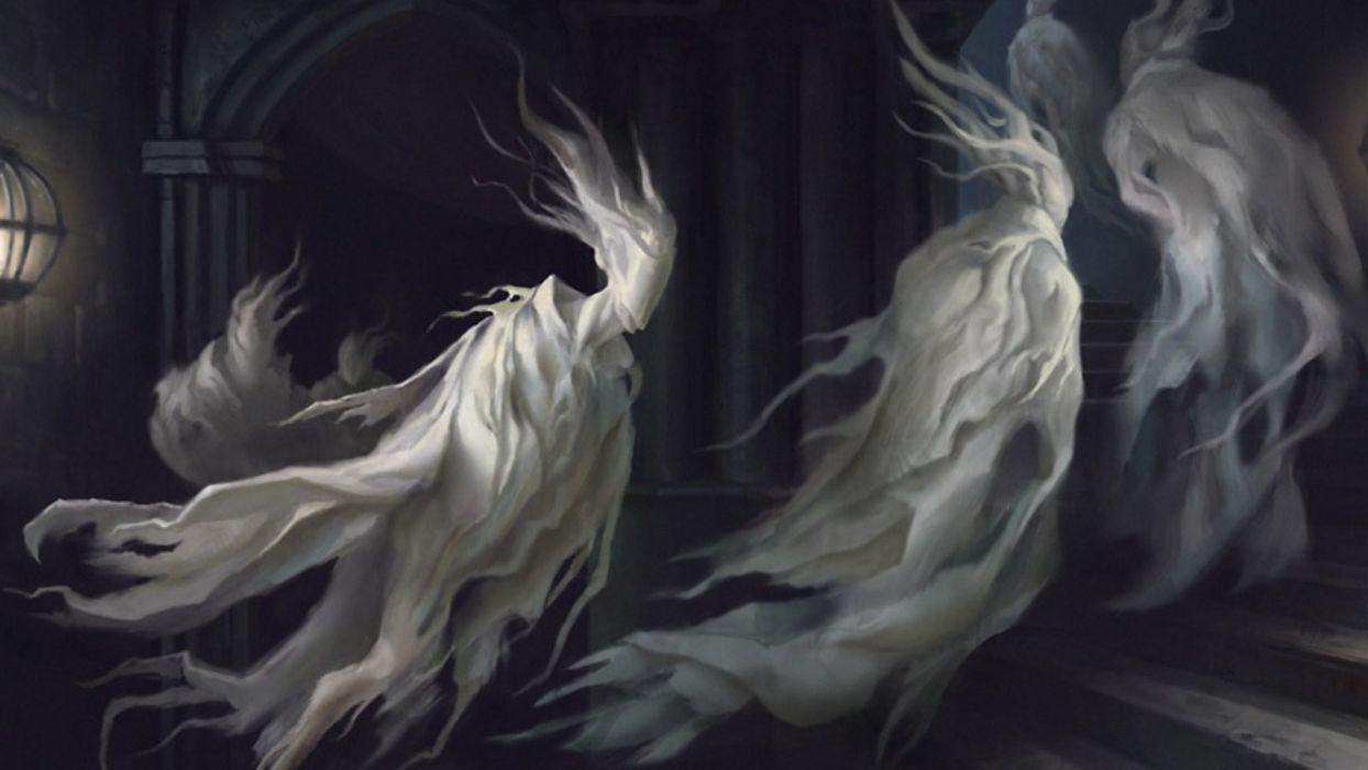 dark horror ghost spooky creepy halloween art wallpaper