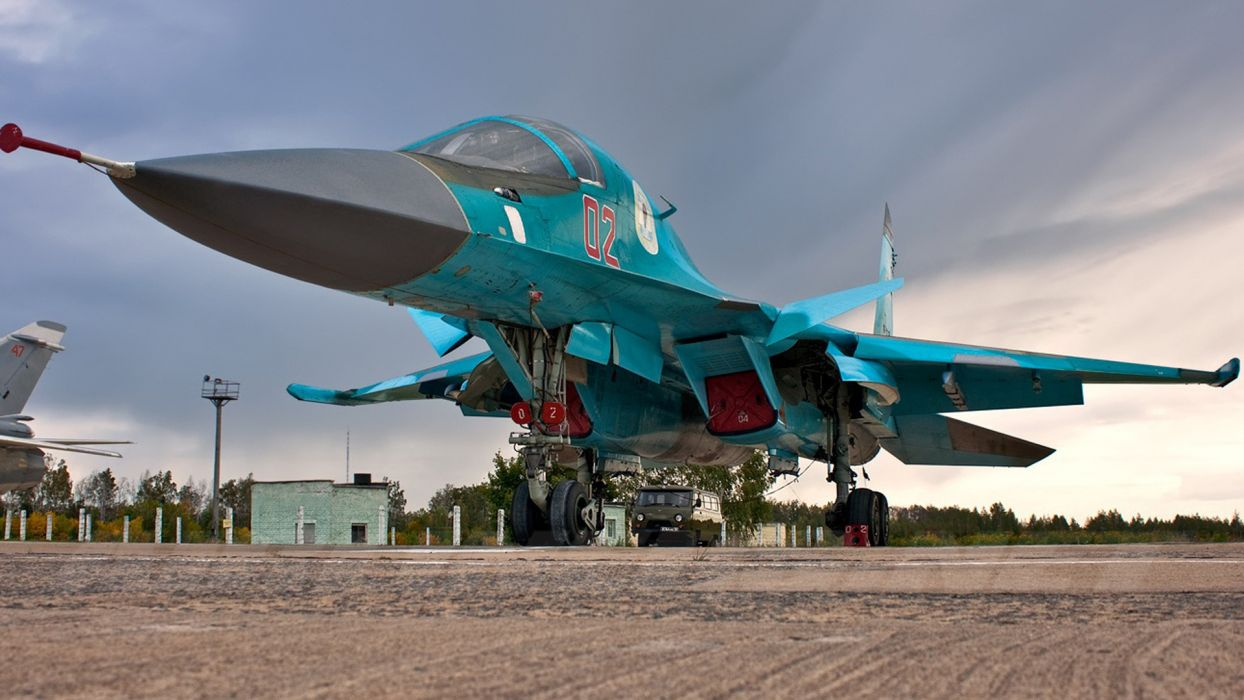 Su 34 military weapon jet fighter wallpaper