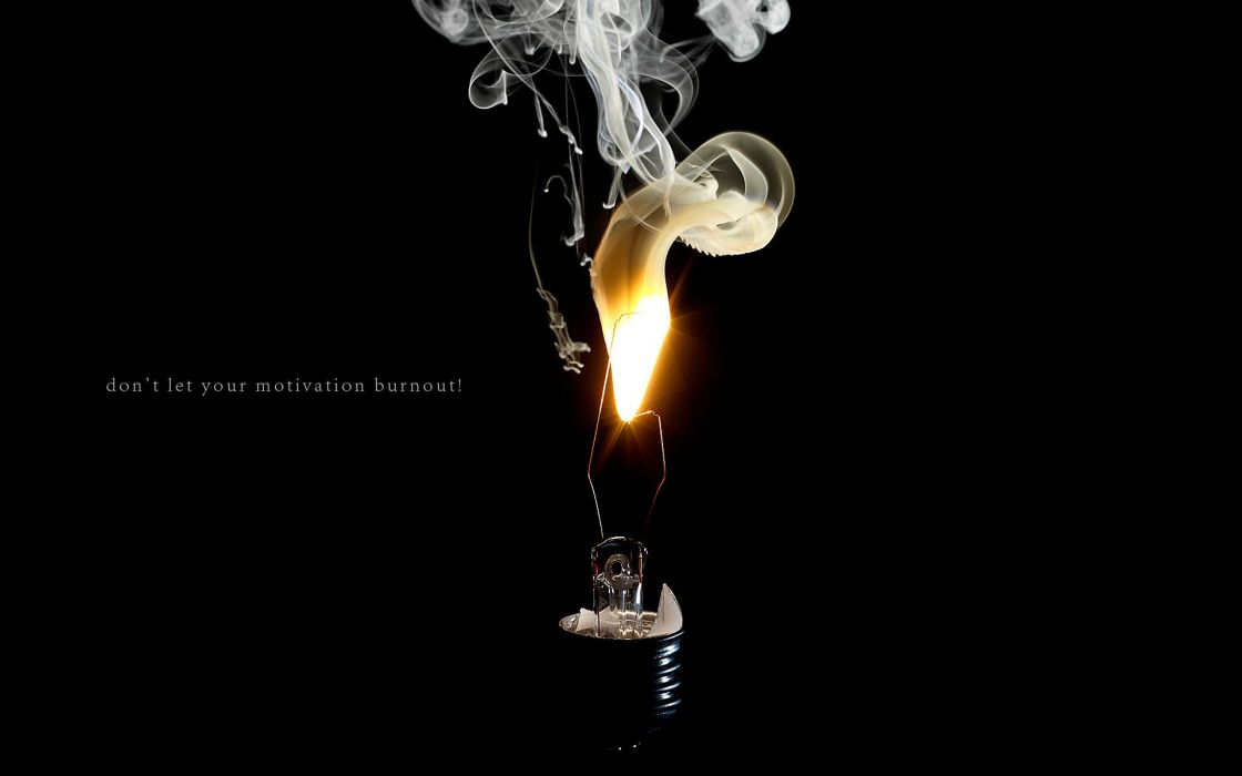 motivation inspiration fire bulb wallpaper
