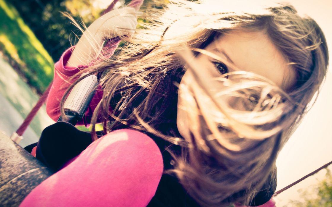 children people blonde cute mood fun happy wallpaper