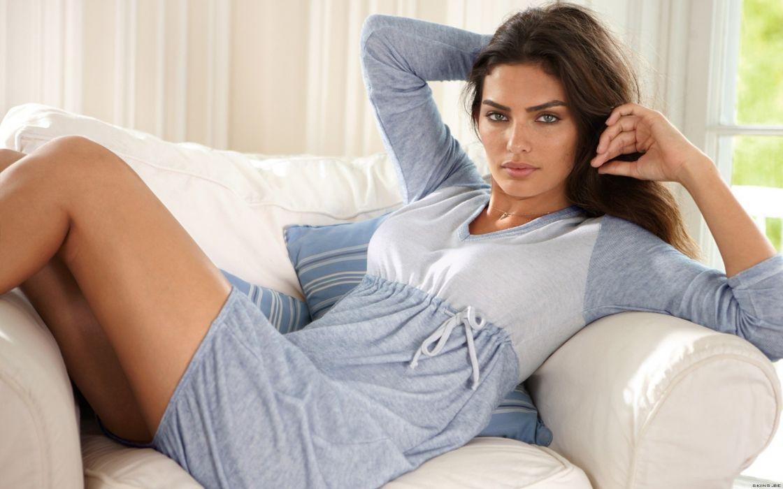 Alyssa Miller women model fashion sexy babes brunette wallpaper