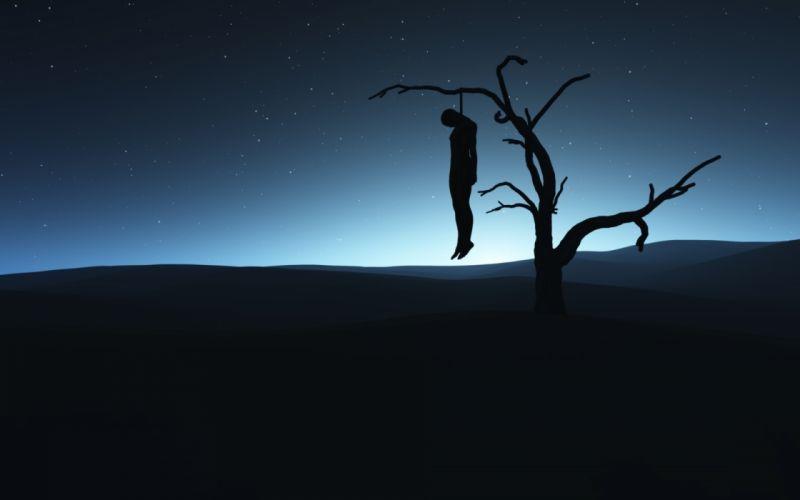 dark horror emo mood sd sorrow suicide wallpaper