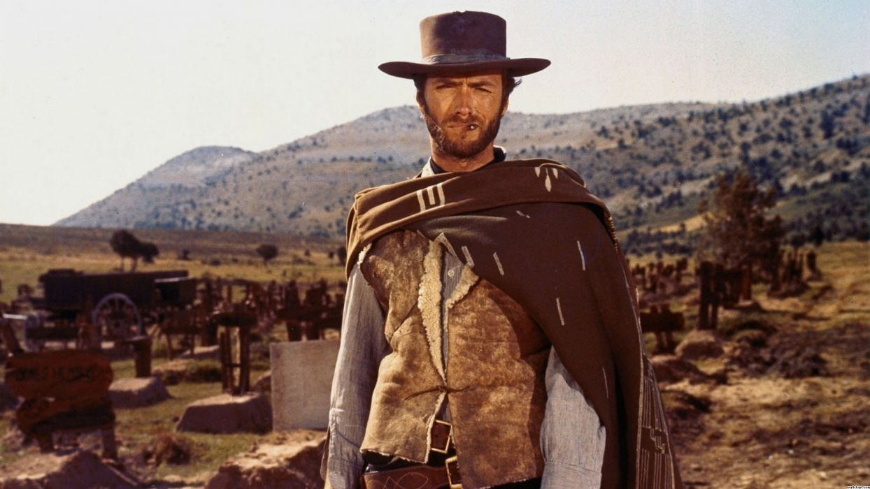 The Good The Bad And The Ugly clint eastwood rustic cowboy western actor wallpaper