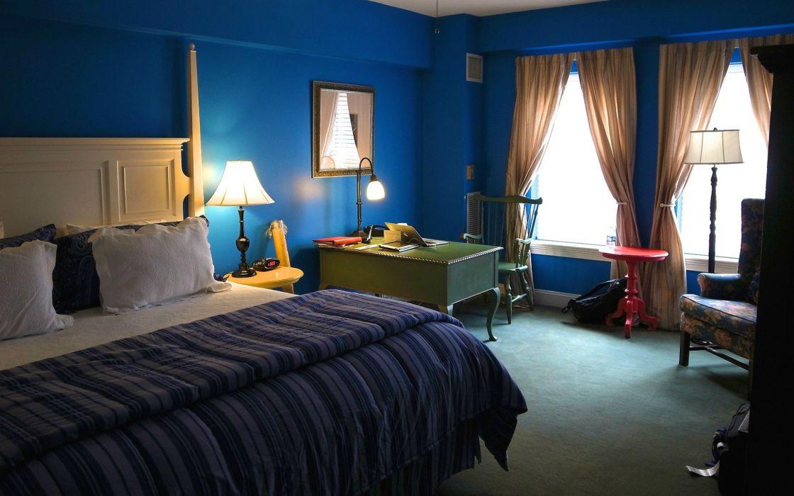 interior design bedroom furniture window wallpaper