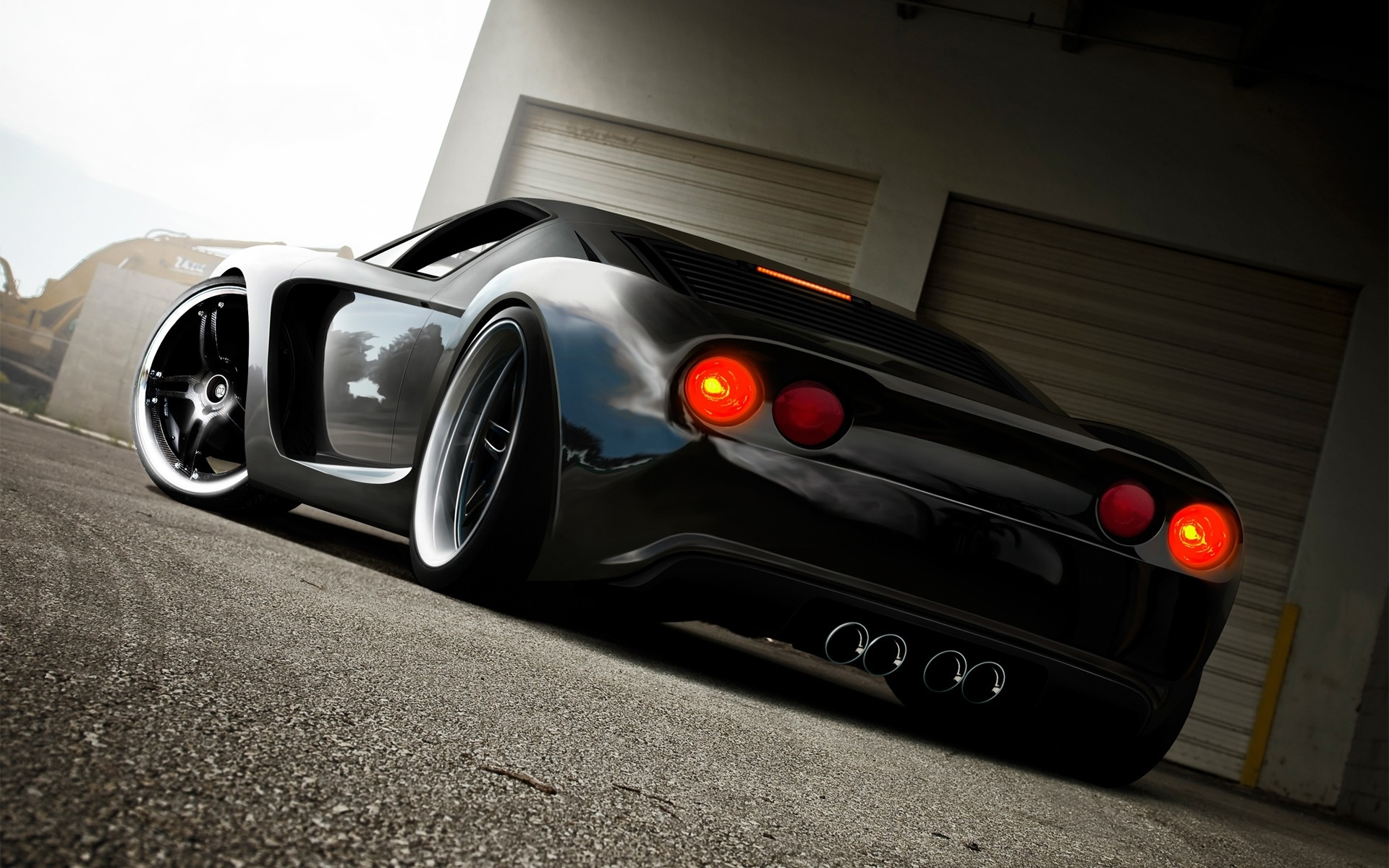 ford gt-dzcp supercar exotic cg digital art tuning wallpaper
