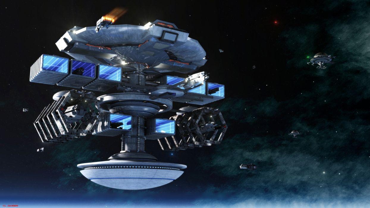 sci fi space spaceship spacecraft futuristic wallpaper