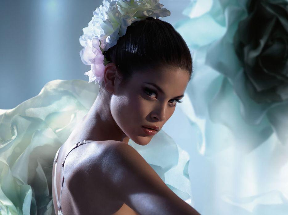 Jenna Pietersen women model fashion sexy babes brunette wallpaper