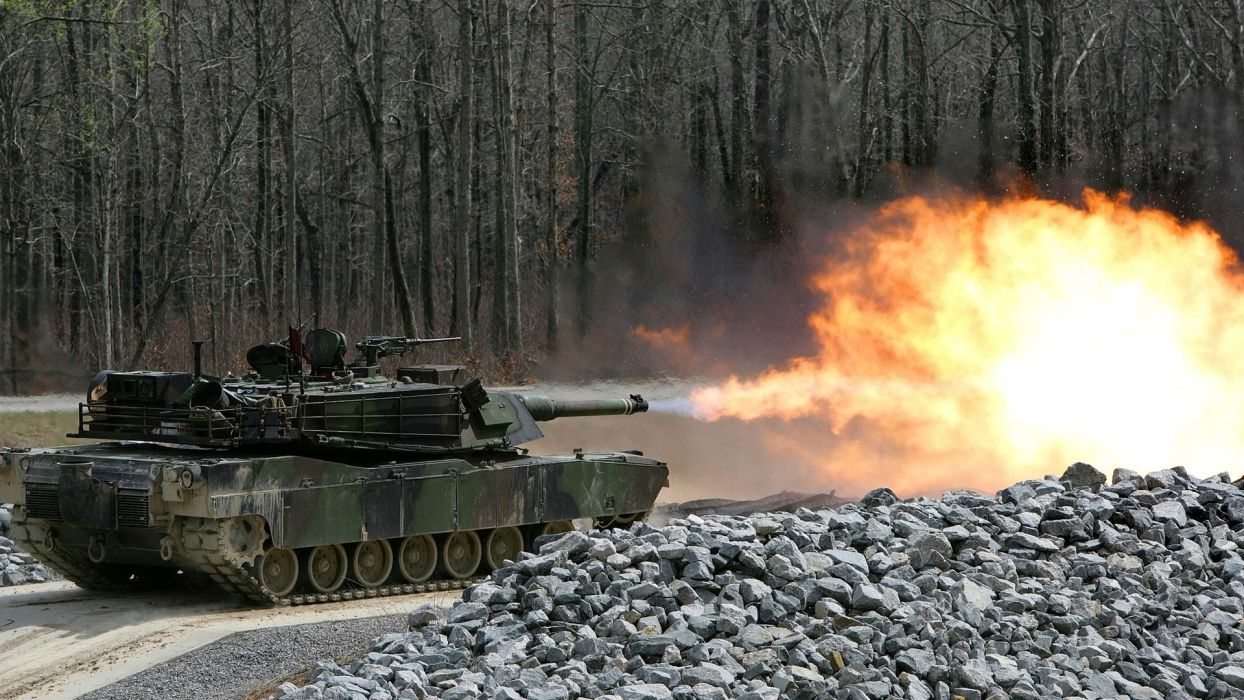 military tanks explosion weapon gun fire wallpaper
