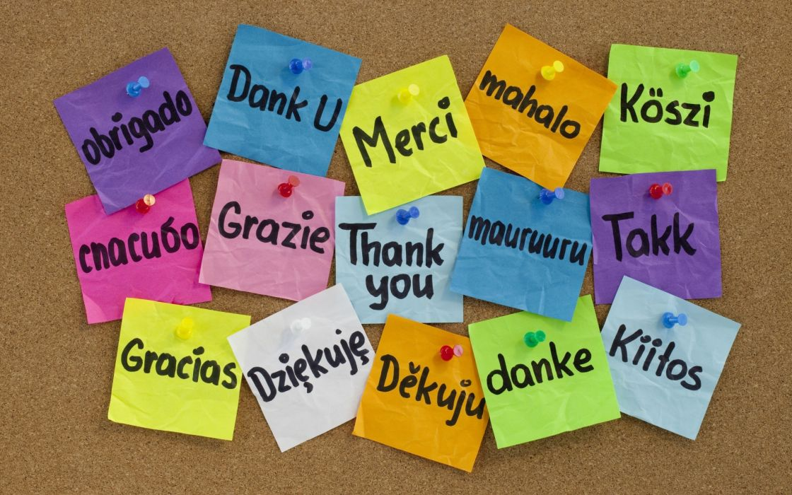 thanks many languagesaeYaeY board buttons colorful stickers wallpaper