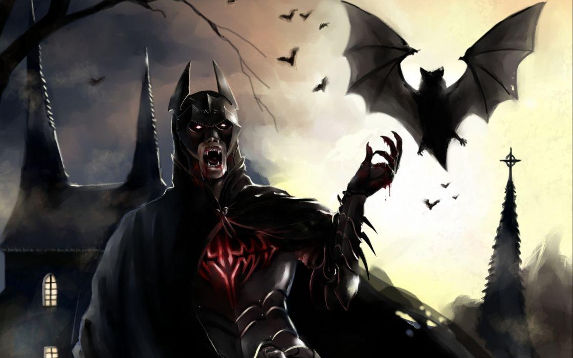 movies video games comics batman dark horror fantasy wallpaper