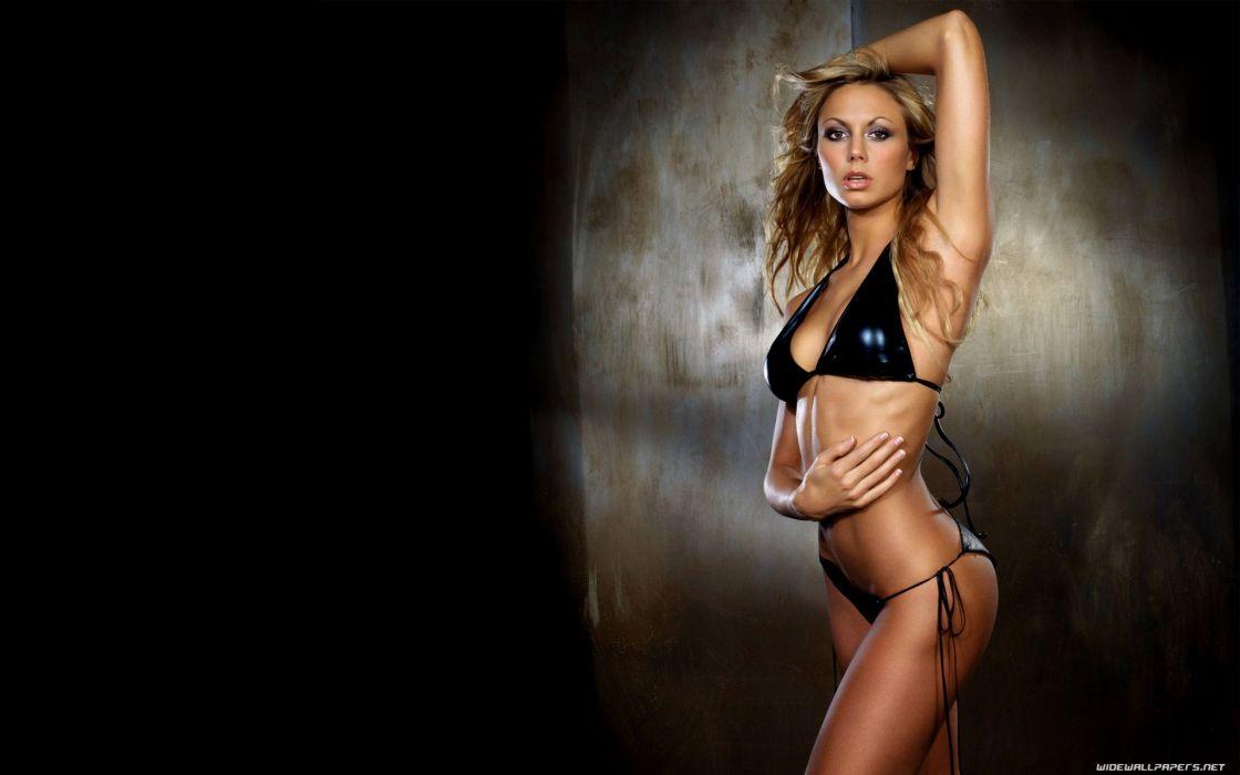 Stacy Keibler in a bikini wallpaper