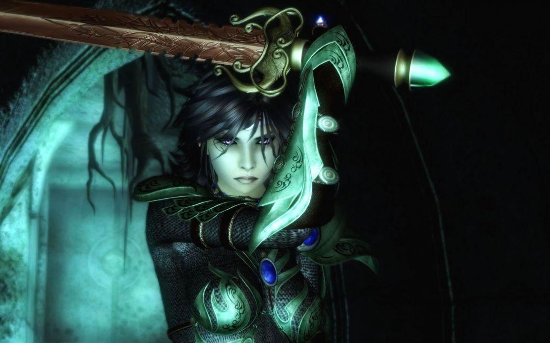 fantasy dark horror gothic warrior vampire weapons sword wallpaper