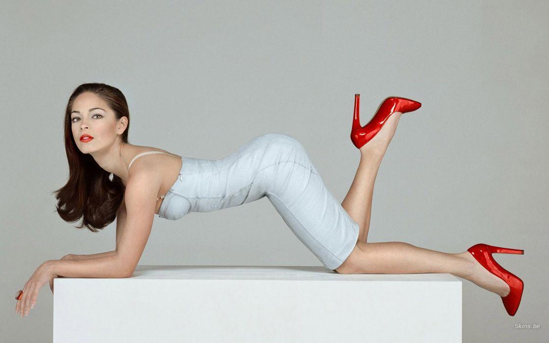 Kristin Kreuk actress women model brunette sexy babes wallpaper