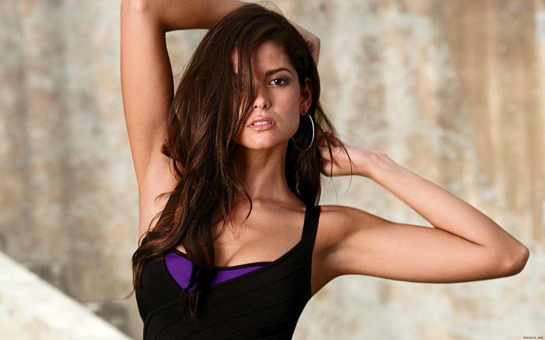 Carla Ossa women model fashion babes sexy brunette wallpaper