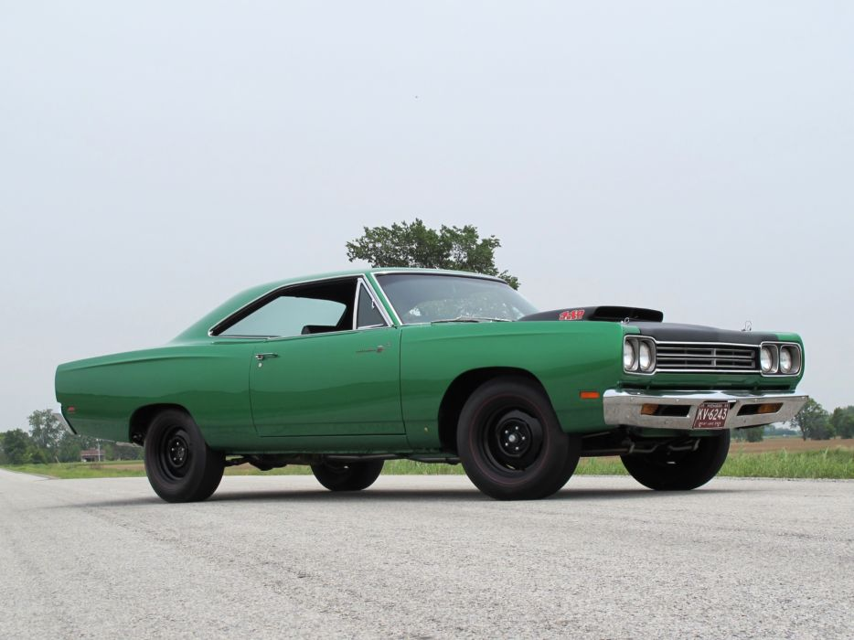 Plymouth Road Runner 440+6 hot rod muscle cars roads classic wallpaper