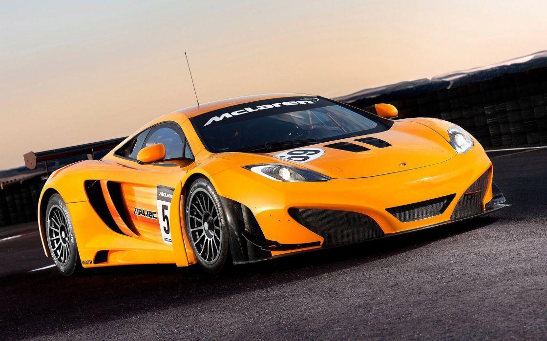 McLaren racing race cars supercar wallpaper