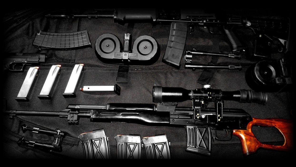 Assault Rifle military weapons guns rifles wallpaper