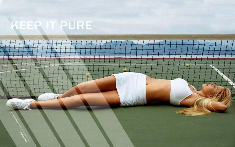 Maria Sharapova tennis women model sexy babes blondes wallpaper