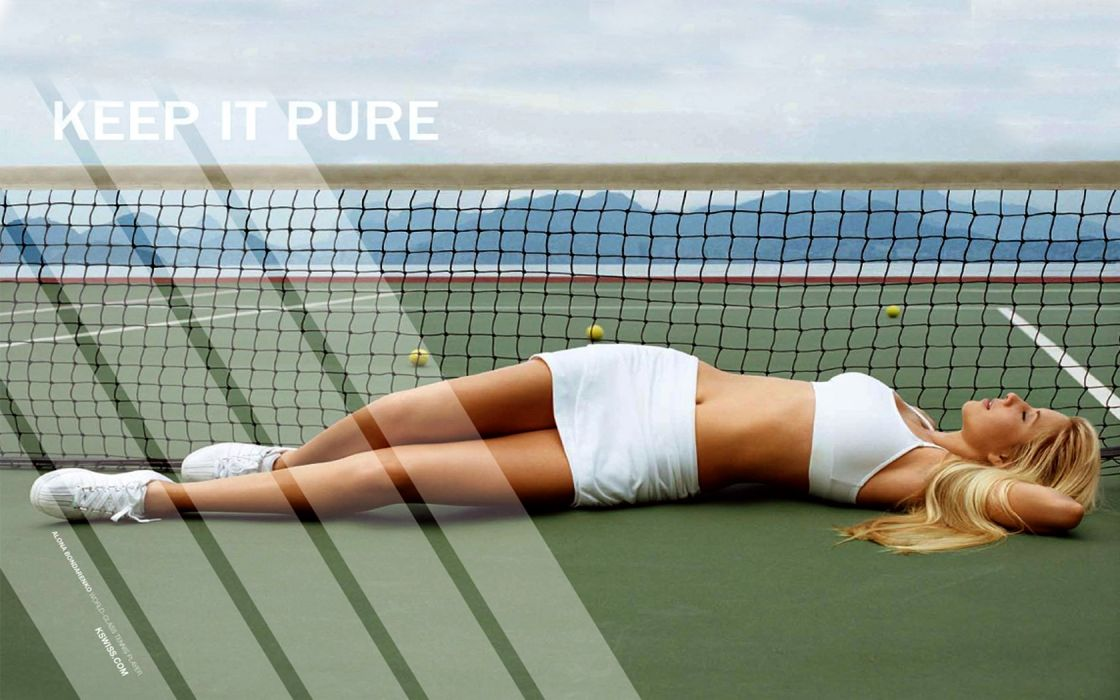 Maria Sharapova tennis women model sexy babes blondes wallpaper