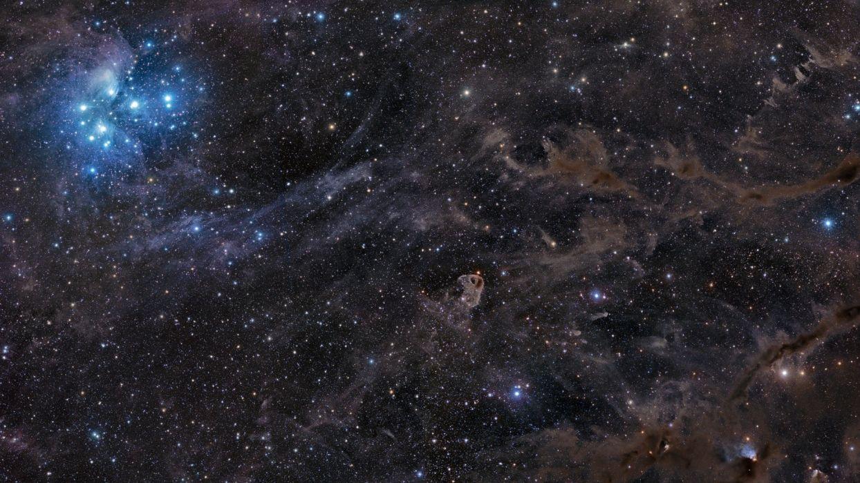 nebula stars outer space sci fi wallpaper
