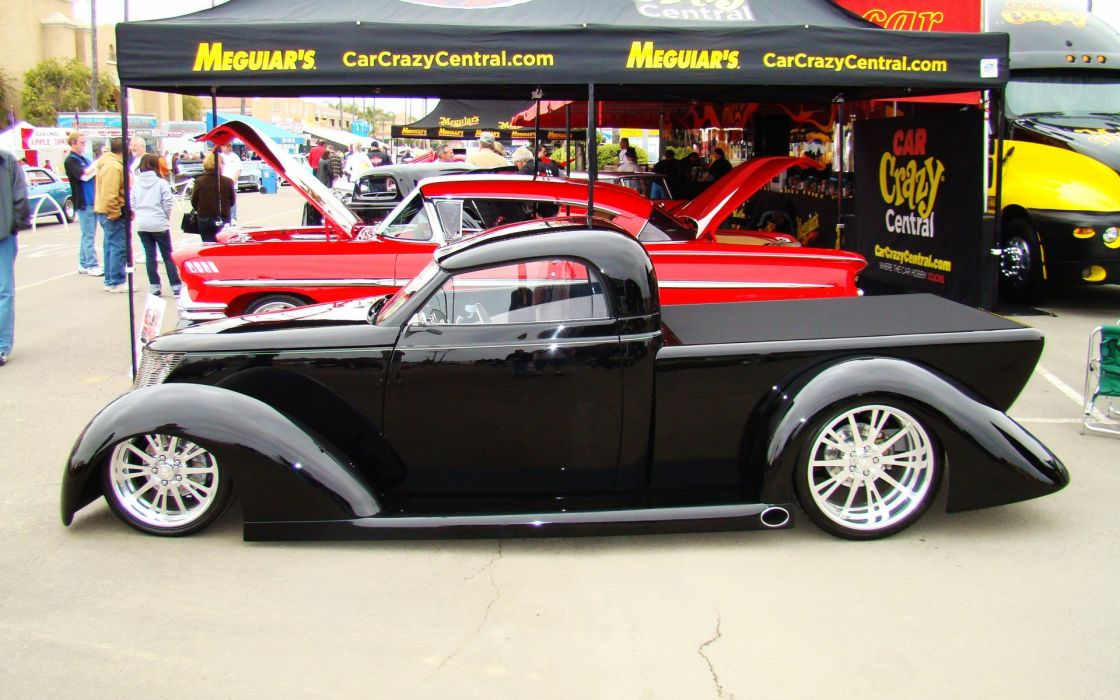 retro custom concept tuning hot rod low wallpaper