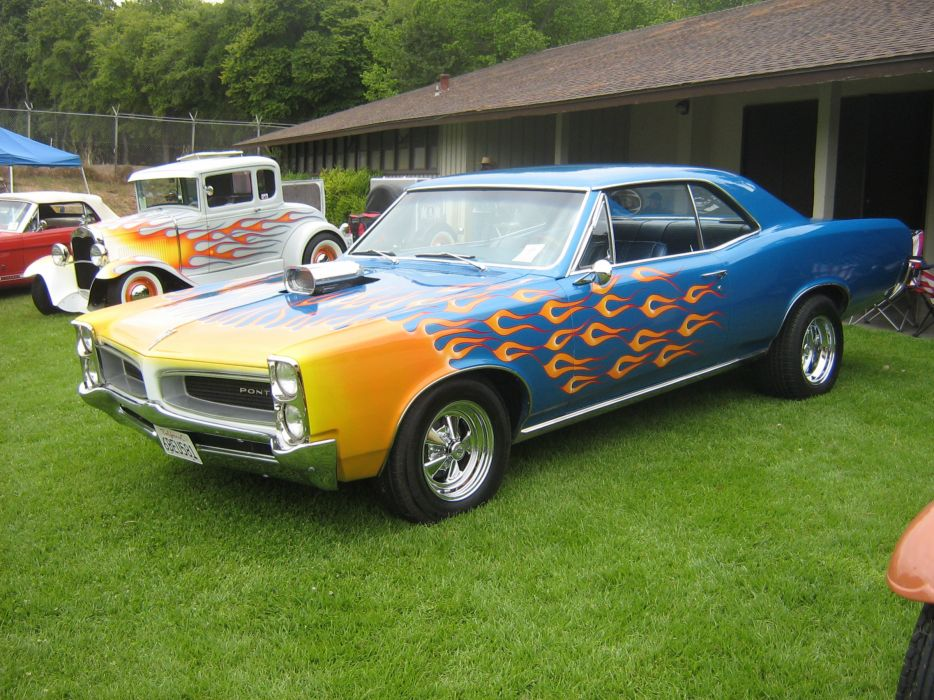 Pontiac muscle cars hot rod tuning wallpaper