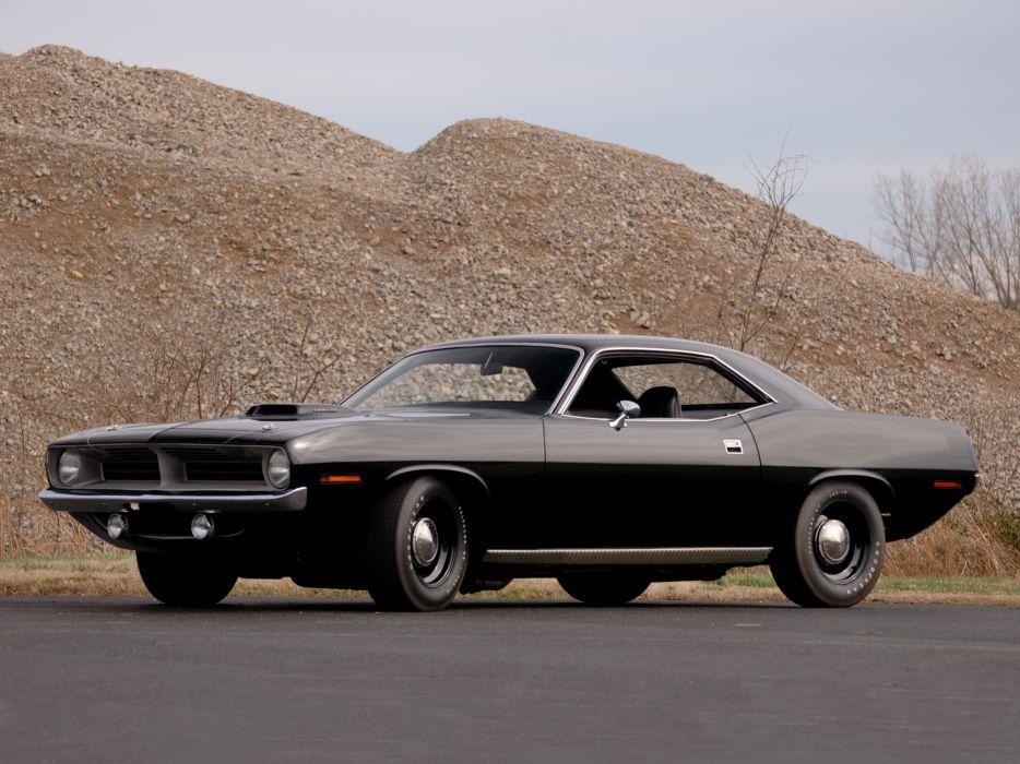 Plymouth Hemi Cuda 1970 muscle cars hot rod wallpaper
