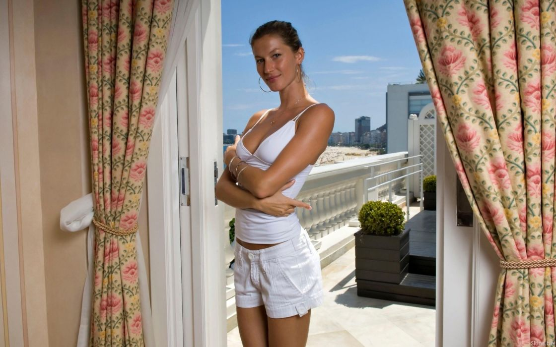 Gisele Bundchen women model fashion supermodel sexy babes wallpaper