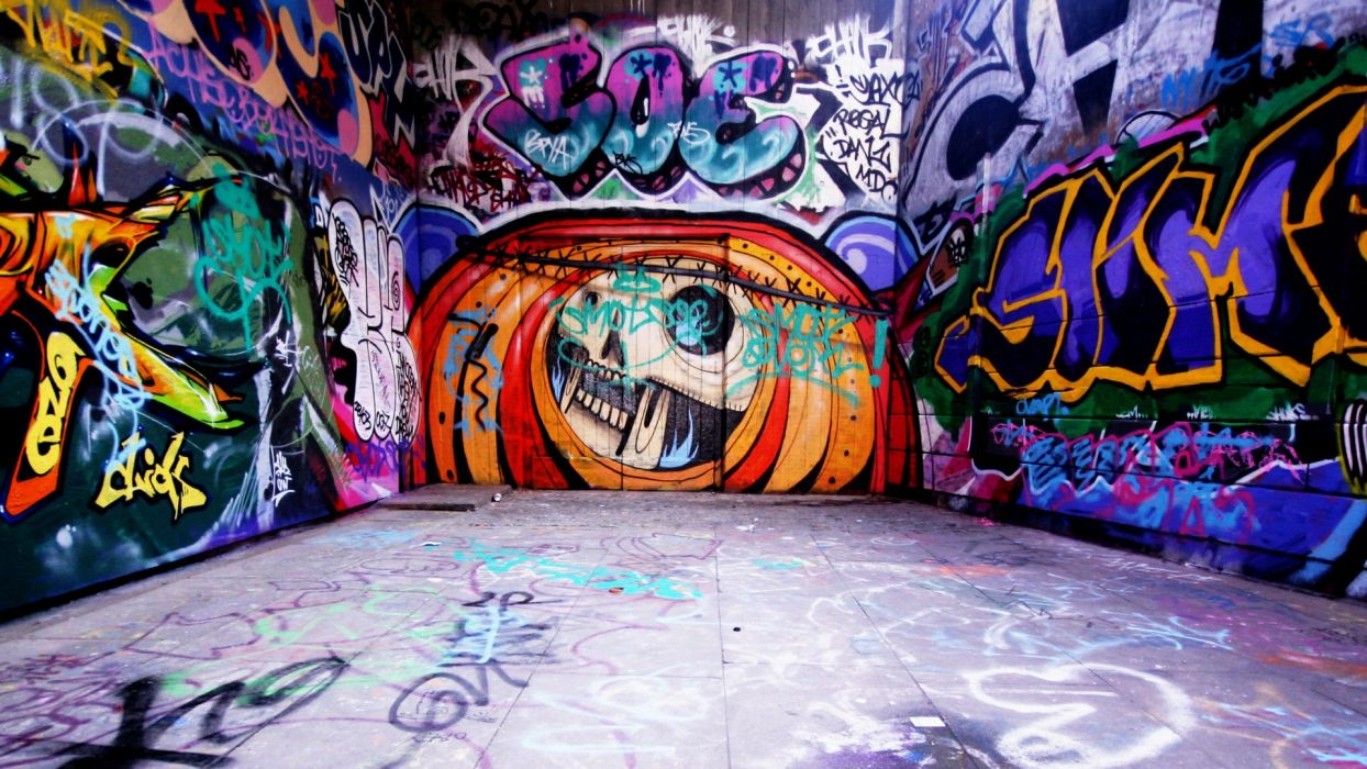 graffiti halloween ur4ban art paint psychedelic wallpaper