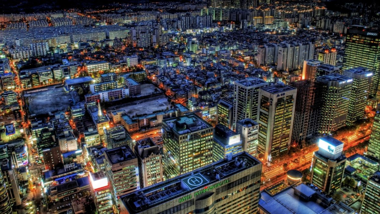 japan tokyo cityscapes skylines buildings skyscrapers asia architecture hdr photography wallpaper